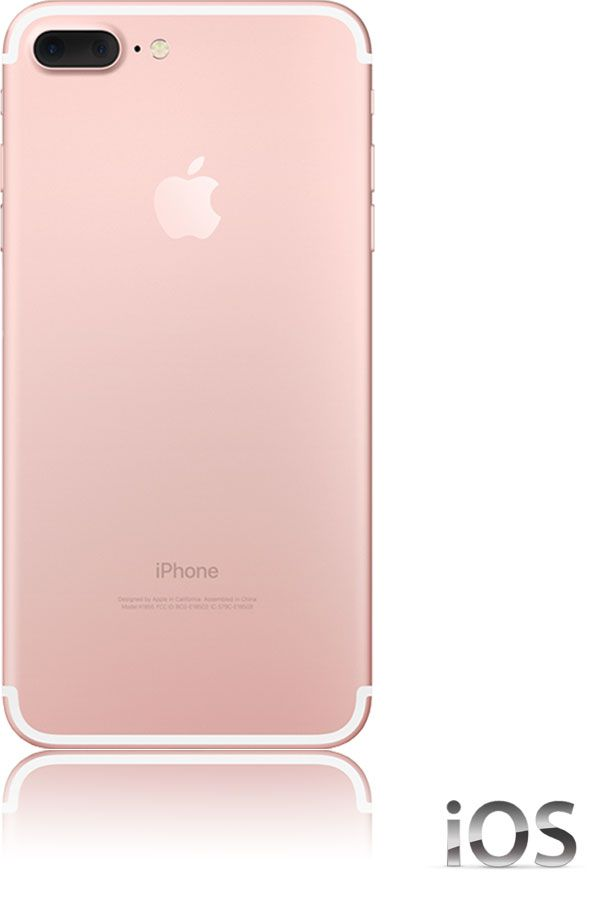 apple iphone 7 plus 128gb 4g rose gold g nstig ohne. Black Bedroom Furniture Sets. Home Design Ideas